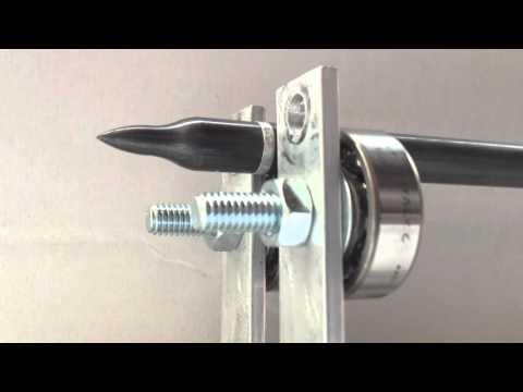 Banco rullaggio artigianale per frecce e punte