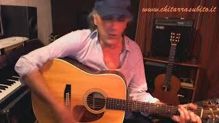 La luce dell'est voce e chitarra