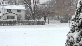 preview picture of video 'Snow in Ohio 13/11/2014'