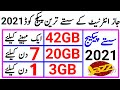 Jazz cheapest internet package 2020|Jazz internet cheapest offer 2020|Jazz internet Packages