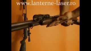 lanterna de vanatoare pentru arma cu tevi lise.mp4