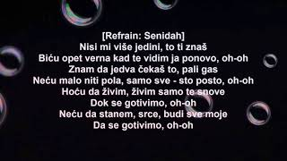 Senidah X RAF Camora   100%   Instrumental   Video Lyrics   2020