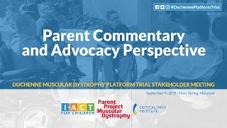 DPT Meeting: Parent Commentary & Advocacy Perspective