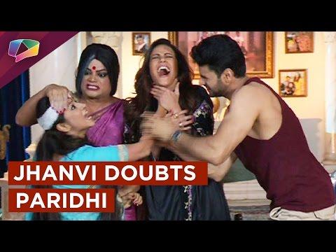 Rajbir's mom Jhanvi suspects Paridhi in Kavach