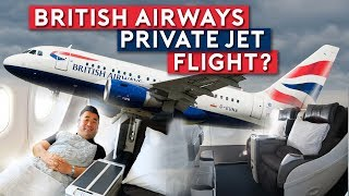 British Airways All Business Class Jet To New York