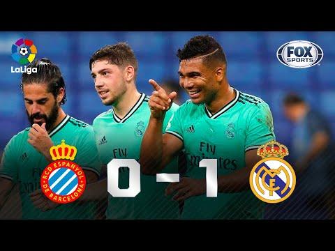 CASEMIRO SALVA! Melhores momentos de Espanyol 0 x 1 Real Madrid pela La Liga