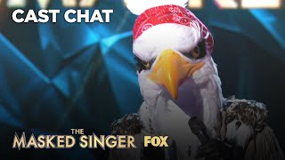 The Eagle Is Unmasked: It's Dr. Drew! | Season 2 Ep. 3 | THE MASKED SINGER
