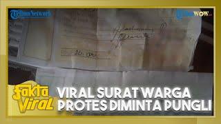 Viral Surat Warga Protes Dimintai Pungli 3 Ormas, Dimaki hingga Diintimidasi kalau Tak Beri Uang