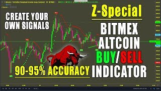 Z-Special Bitmex Altcoin Buy/Sell Trading Suite VVIP Indicator with 95% Accuracy.