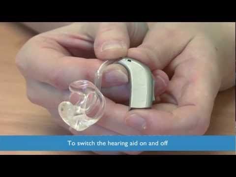 Fitting and maintaining a hearing aid - A Chesterfield Royal Hospital guide