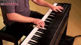 Kraft Music   Roland F 20 Digital Piano Demo With James Day
