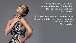 Alicia Keys - 12. Distance and Time (Lyrics)