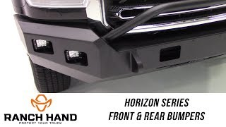 In the Garage™ with Total Truck Centers™: Ranch Hand Horizon Series Front and Rear Bumpers