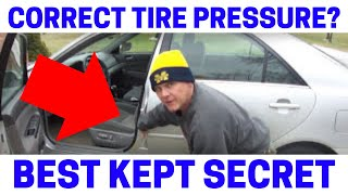 What Is The Correct Tire Pressure For Your Car? Fast & Easy!