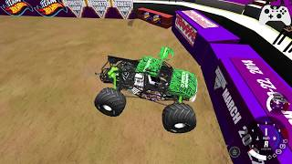 BeamNG.Drive Monster Jam; New Tracks, New Truck, & Axle update!