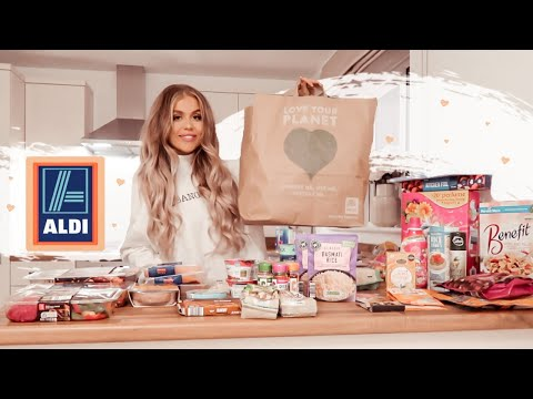 HEALTHY ALDI FOOD SHOP ON A BUDGET   Weekly Food Shopping Haul ✨
