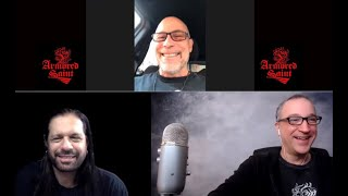 Armored Saint John Bush Interview- 'Punching The Sky'-Online Gig & Anthrax 3 Singer Reunion Talk