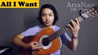 Chord Gampang (All I Want - Kodaline) by Arya Nara (Tutorial Gitar)