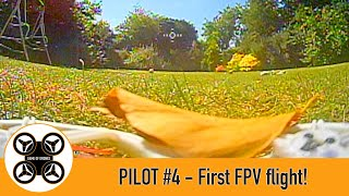 Game of Drones - Pilot #4 - First FPV flight in the TinyHawk 2 Taken down by a leaf!