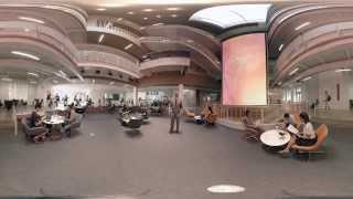 360 Virtual Reality Tour of Wallis Annenberg Hall