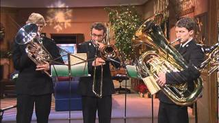 "Salvation Army Brass Band  ""Good Christian Men Rejoice"""
