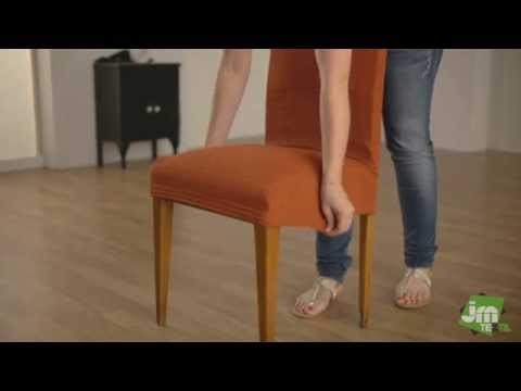 How to Put a Backed Chair Cover