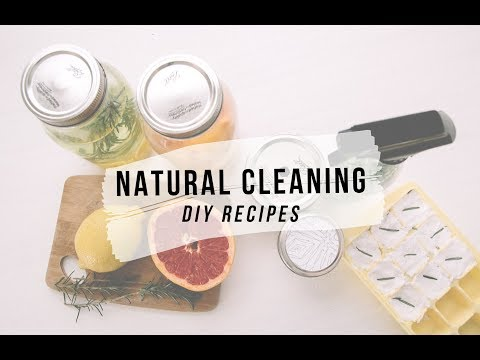 DIY Natural Cleaning Recipes: Simple, Minimalist and Inexpensive | Jamie Kate