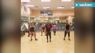 Seany Dance fitness choreo Chris brown ft Tyga - holla at me