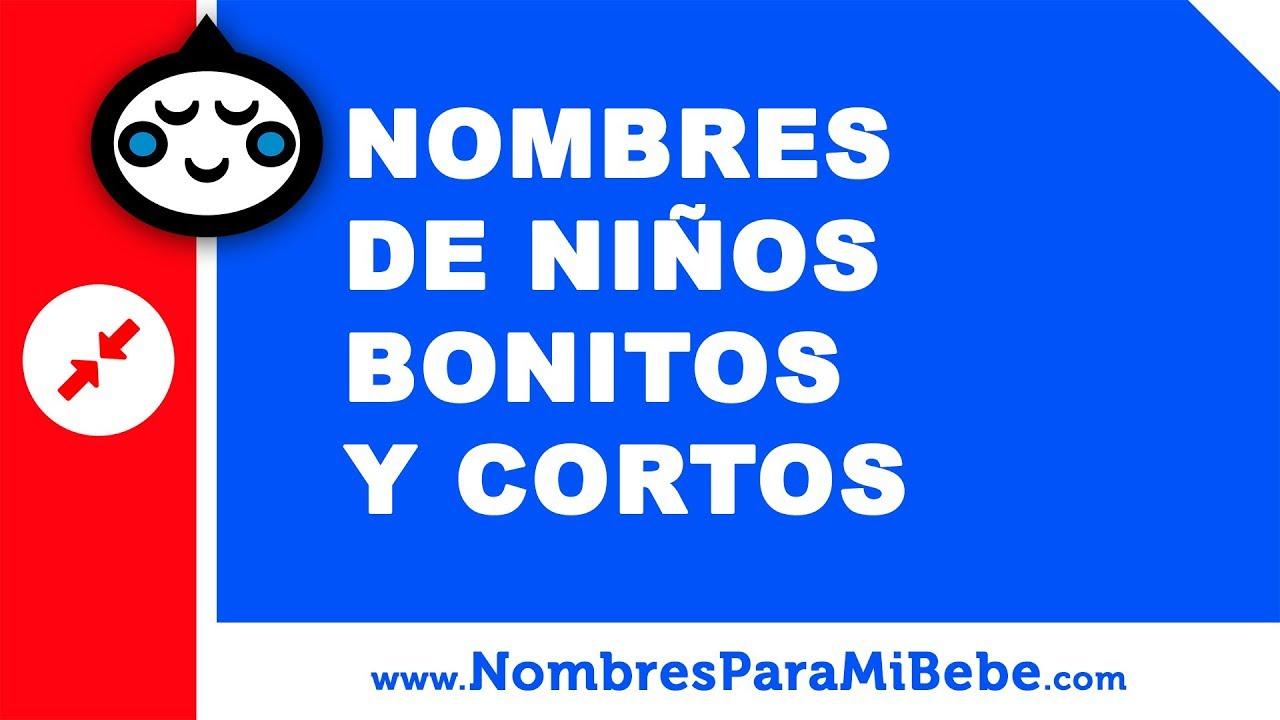 10 nombres bonitos y cortos para niños - nombres de bebés - www.nombresparamibebe.com