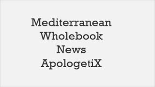 ApologetiX Mediterranean Wholebook News