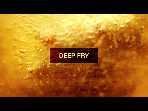 Slow Motion Food #3 : Deep Fry | Kitchen Verb