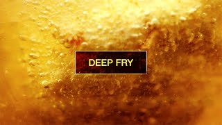 Slow Motion Food #3 : Deep Fry   Kitchen Verb