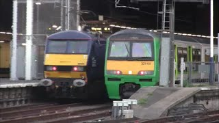 preview picture of video '(HD) Rush Hour at London Euston 26/09/2014'