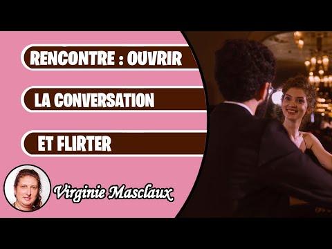 Rencontre : ouvrir la conversation et flirter