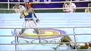 Олимпийские игры. Kostya Tszyu vs Leopoldo Cantancio. 1988, Сеул.