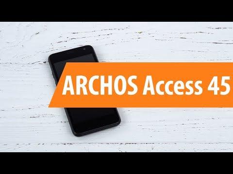 Распаковка ARCHOS Access 45 / Unboxing ARCHOS Access 45
