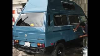 1982 Volkswagen Vanagon Westfalia Tijuana Paint Job