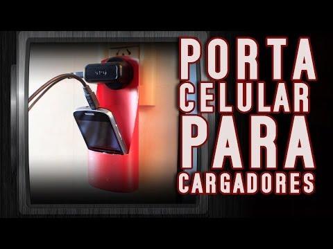 Porta celulares para cargador