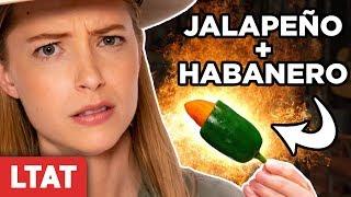Habanero-Stuffed Jalapeño Challenge