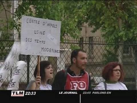 La MGEN en grève (Lyon)