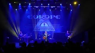 Europe - Prisoners in Paradise - Palais Theatre - Melbourne Australia 19th May 2018