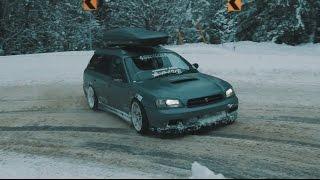 SubaruLegacyGTBDrifting+straightpipeexhaust