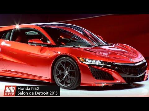 Honda Acura NSX 2016 : le dragon est de retour - Présentation vidéo