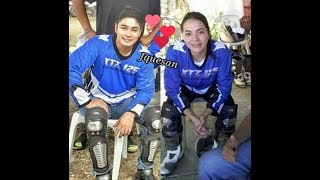 SPOTTED!  COUPLE JULIA MONTES AT COCO MARTIN NAG MOTORCROSS!