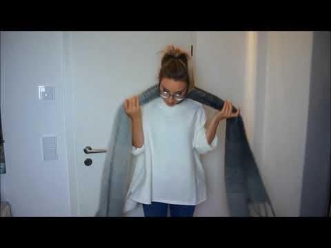 Schal binden leicht gemacht - für Damen