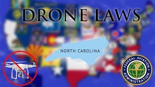 Where Can I Fly in North Carolina? - Every Drone Law 2019 - Charlotte and Raleigh (Episode 33)