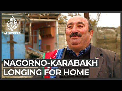 Nagorno-Karabakh conflict: Displaced Agdam residents hoping to resettle