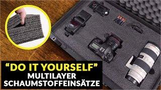 """""""Do it yourself"""" Multilayer Schaumstoffeinsatz von HPC"""