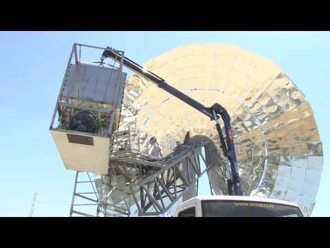 ENEA Channel - ENEA presenta primo disco solare al mondo con microturbina ad aria