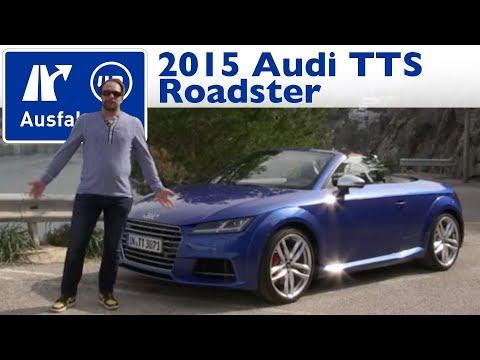 2015 Audi TTS Roadster   Fahrbericht der Probefahrt  Test   Review